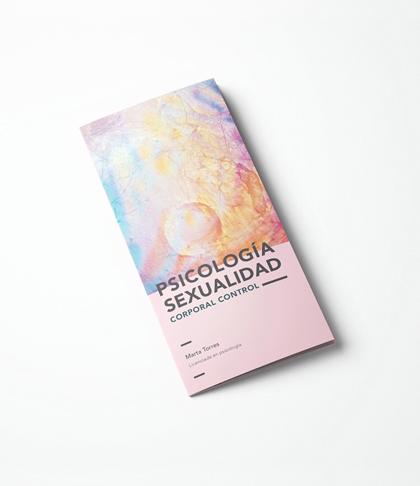inuq estudio diseño de tríptico y papelería corporativa