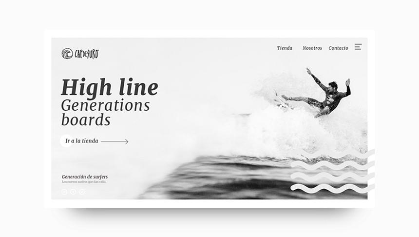 inuq estudio diseño web surf boards skate
